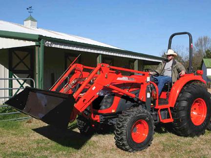 Kioti DK55 Tractor Needed