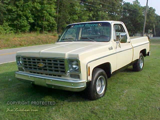 1976 Chevy Truck Custom Deluxe C-10