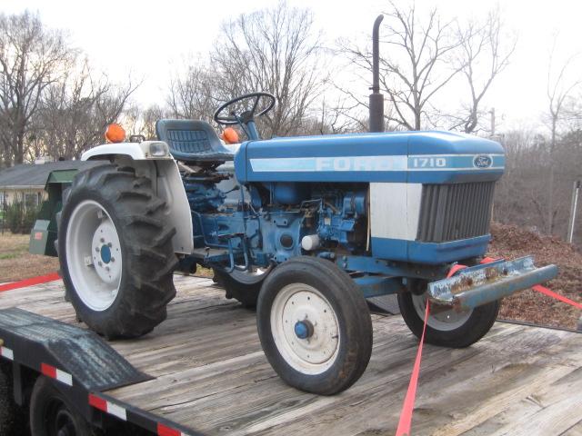Ford 1710 Tractor Ballast : Farmer jim s god still answers prayers tractor