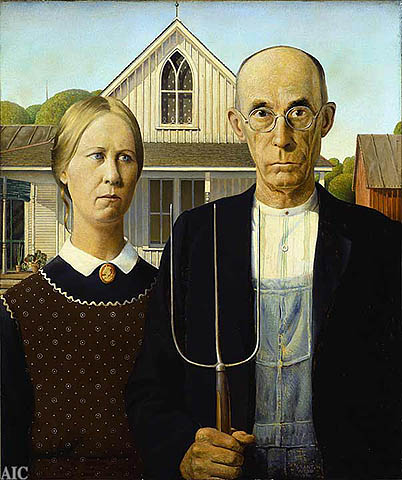 Farmer and His Wife