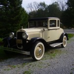 1929 Chrysler with Rumble Seat