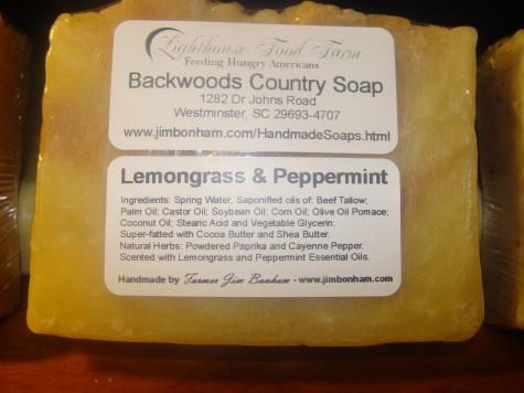 Lemongrass and Peppermint