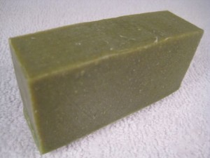 Wheatgrass Soap