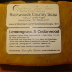 Lemongrass & Cedarwood - Natural Organic Handmade Soap - Hot Process Soap
