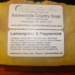 Lemongrass & Peppermint - Natural and Organic Handmade Soap - Hot Process Soap