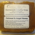 Oatmeal & Angel Honey - Natural Organic Handmade Soap - Hot Process Soap