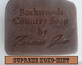 Supreme Koko-Mint - Handmade Goat Milk Soap - Hot Process Soap