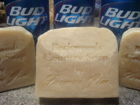 Bud Light Beer Soap