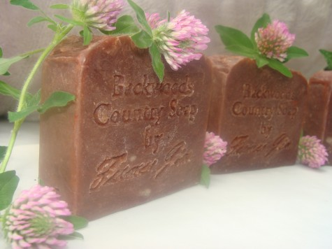 Red Clover Tea Soap